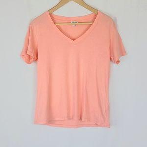 Splendid Coral Pink Top